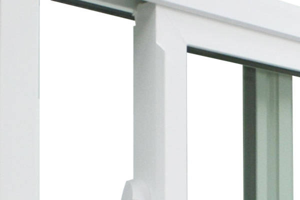 Imperial integral pull rail