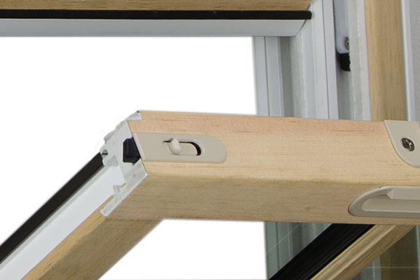 Value fusionwood hung window tilt latch