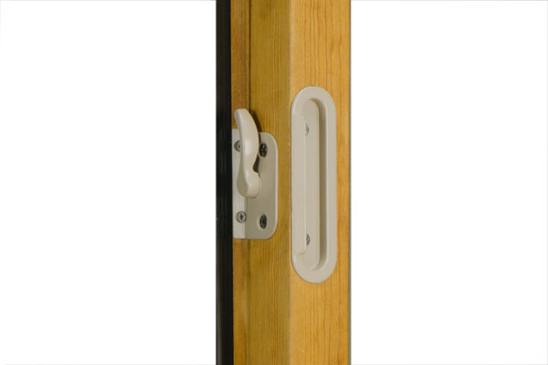Value fusionwood window lock and handle