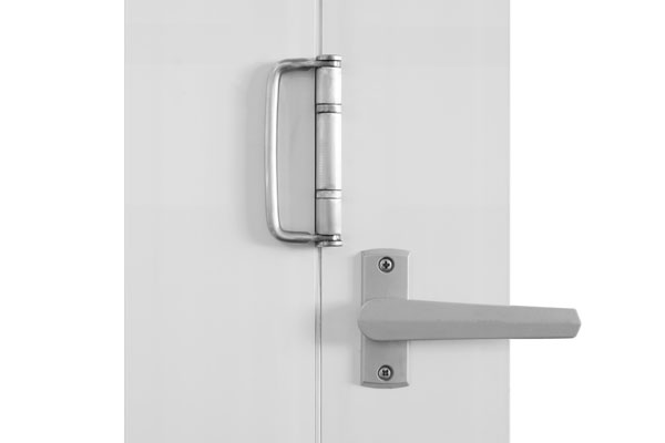 Value Brushed nickel twin bolt lock