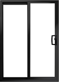 value winwdows doors Aluminum Patio Sliding Door Image