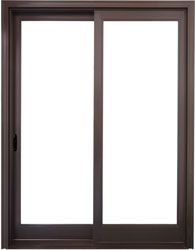 value winwdows doors Fusionwood Patio Sliding Door Image