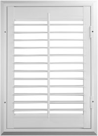 value windows doors Imperial series Vinyl Shutter
