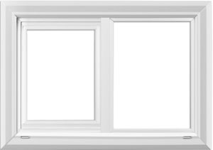 value windows doors imperial Horizontal Sliding Window Product Photo